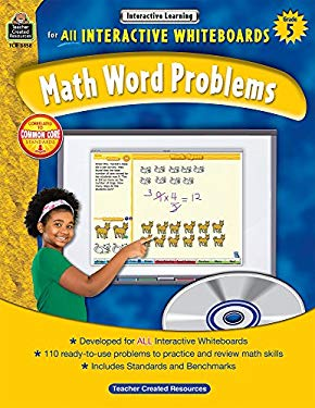 Interactive Learning: Math Word Problems, Grade 5 [With CDROM] 9781420638585