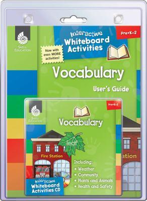 Interactive Whiteboard Activities: Vocabulary 9781425806736