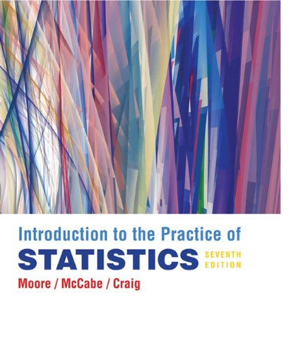 Introduction to the Practice of Statistics [With CDROM] 9781429240321