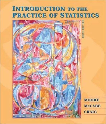 Introduction to the Practice of Statistics [With CDROM] 9781429216227