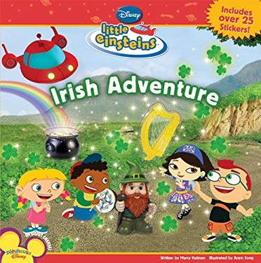 Irish Adventure [With Includes Over 25 Stickers] 9781423116837