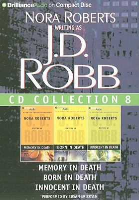 J.D. Robb CD Collection 8: Memory in Death/Born in Death/Innocent in Death 9781423346548