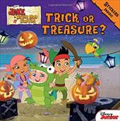 Jake and the Never Land Pirates Trick or Treasure?: Stickers Inside! (Jake Never Land Pirates) 21233953