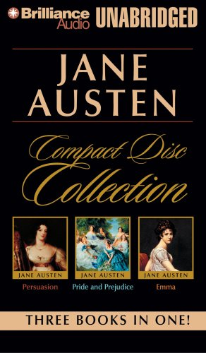 Jane Austen Compact Disc Collection: Pride and Prejudice, Persuasion, Emma 9781423386568
