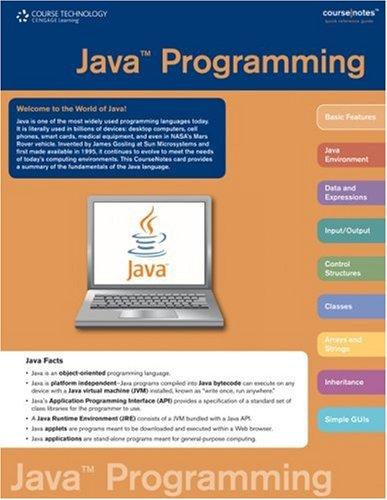 Java Programming 9781423903222