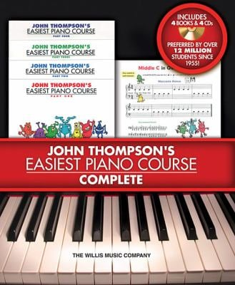 John Thompson's Easiest Piano Course - Complete [With 4 CDs] 9781423468226