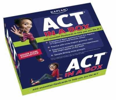 Kaplan ACT in a Box 9781427796691