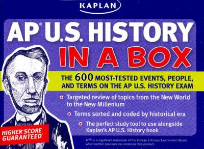 Kaplan AP U.S. History in a Box 9781427796837
