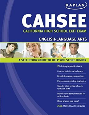 Kaplan CAHSEE English-Language Arts: California High School Exit Exam 9781427796004
