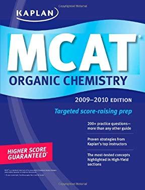 Kaplan MCAT Organic Chemistry 9781427798749