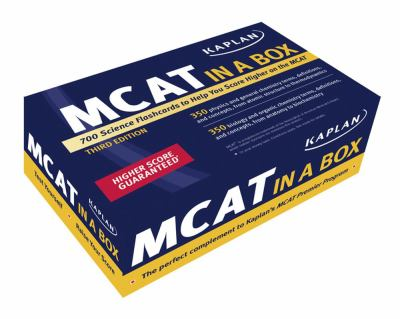 Kaplan MCAT in a Box Flashcards 9781427797865