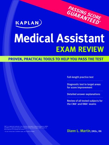 Kaplan Medical Assistant Exam Review 9781427798473