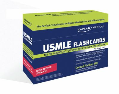 Kaplan Medical USMLE Diagnostic Test Flashcards: The 200 Diagnostic Test Questions You Need to Know for the Exam for Steps 2 & 3 9781427798466