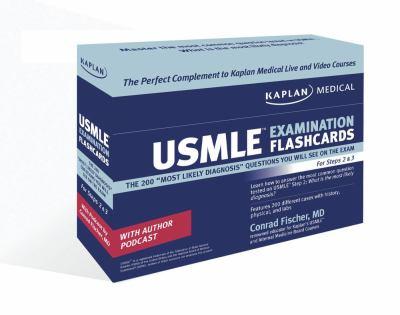 Kaplan Medical USMLE Examination Flashcards: The 200 Most Likely Diagnosis Questions You Will See on the Exam for Steps 2 & 3 9781427797421
