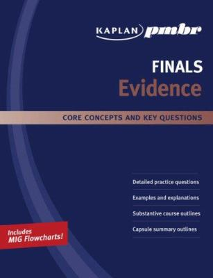 Kaplan PMBT Finals: Evidence: Core Concepts and Key Questions 9781427796400