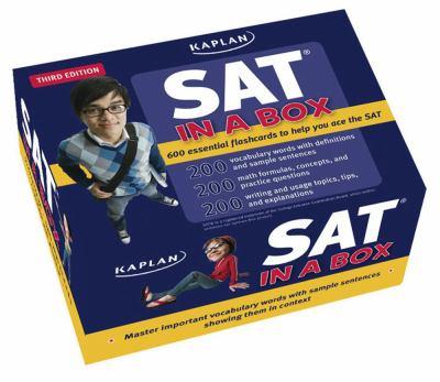 Kaplan SAT in a Box Flashcards 9781427797889