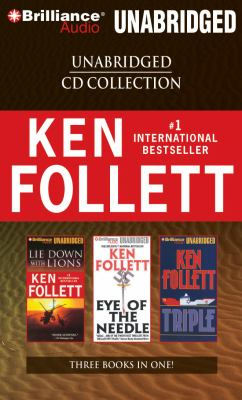 Ken Follett CD Collection: Lie Down with Lions/Eye of the Needle/Triple 9781423386520