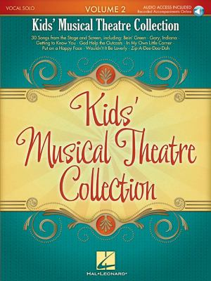 Kids' Musical Theatre Collection, Volume 2 [With CD (Audio)] 9781423483328