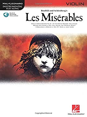 Les Miserables: Violin [With CD (Audio)] 9781423437529
