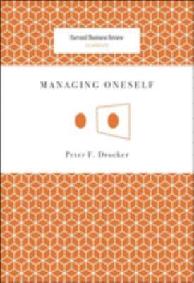 Managing Oneself 9781422123126