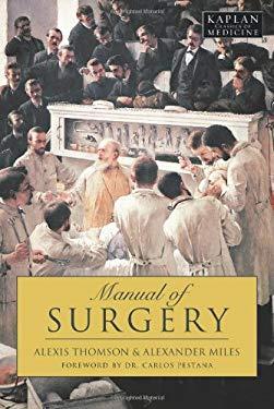 Manual of Surgery 9781427797995