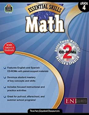 Math, Grade 4 [With 2 CDROMs] 9781420662146