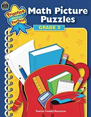 Math Picture Puzzles: Grade 2 9781420639070