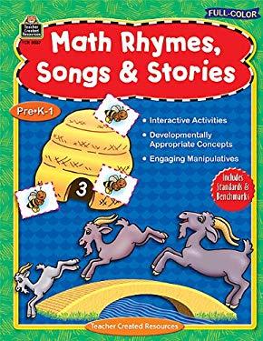 Math Rhymes, Songs & Stories: Pre K-1 9781420688573