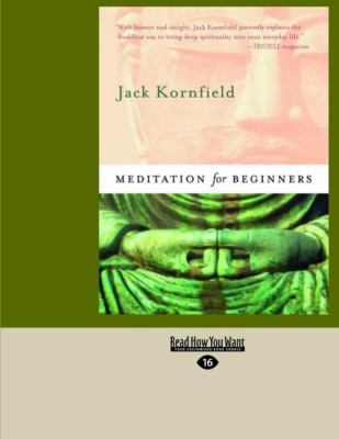 Meditation for Beginners (Easyread Large Edition) 9781427085306