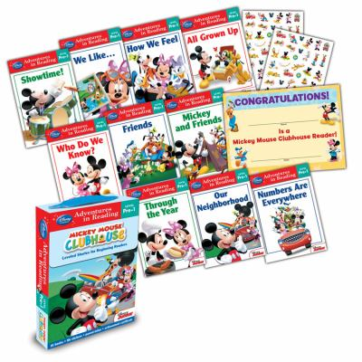 Mickey Mouse Clubhouse: Reading Adventures Mickey Mouse Clubhouse Level Pre-1 Boxed Set 9781423161059
