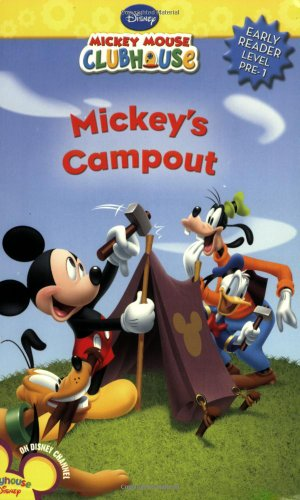 Mickey's Camp Out [With Punch-Out Flash Cards] 9781423110194