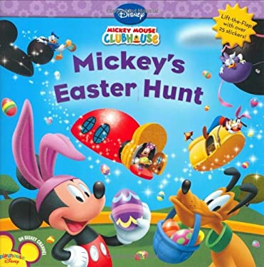 Mickey's Easter Hunt [With Stickers] 9781423107477