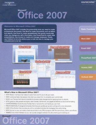 Microsoft Office 2007 9781423912453