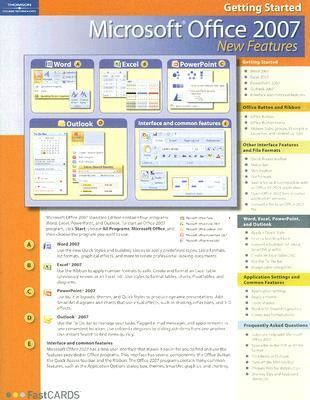 Microsoft Office 2007 New Features 9781423954835