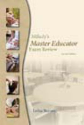 Milady's Master Educator Exam Review: For Trainees to Become Educators in the Fields of Cosmetology, Barber Styling, Massage, Nail Technology, and Est 9781428321540