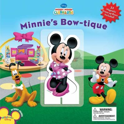 Minnie's Bowtique [With 32 Magnets] 9781423128434