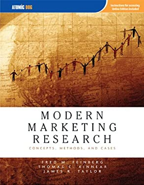 Modern Marketing Research: Concepts, Methods, and Cases 9781426625602