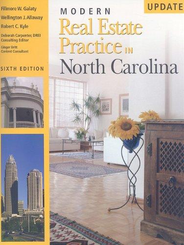 Modern Real Estate Practice in North Carolina 9781427750907