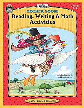 Mother Goose Reading, Writing & Math Activities, Grades K-2 [With Transparency(s)] 9781420632798