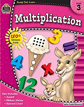 Multiplication, Grade 3 [With 180+ Stickers] 9781420659283