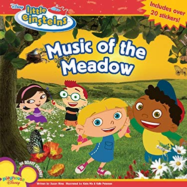 Music of the Meadow [With 20 Stickers] 9781423108320