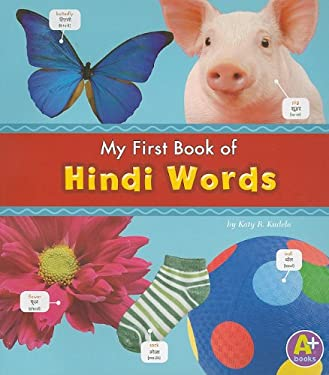 My First Book of Hindi Words 9781429661737