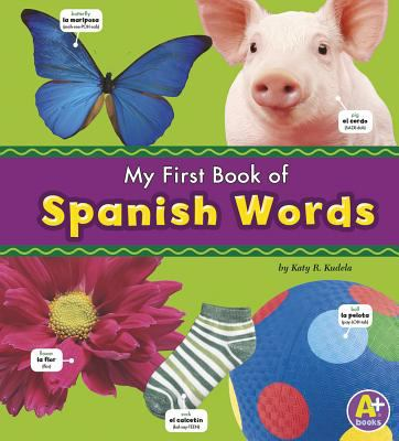 My First Book of Spanish Words 9781429638524