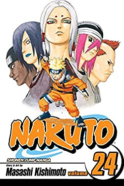 Naruto, Volume 24 [With Exclusive Collectible Stickers] 9781421518602