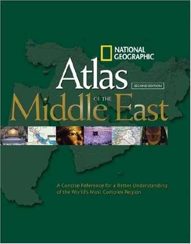 National Geographic Atlas of the Middle East 9781426202216