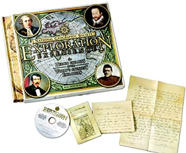 National Geographic Society Exploration Experience: The Heroic Exploits of the World's Greatest Explorers [With CDROMWith Maps]