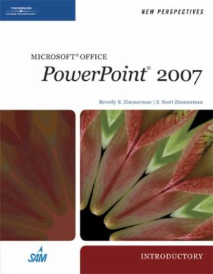 New Perspectives on Microsoft Office PowerPoint 2007, Introductory 9781423905929