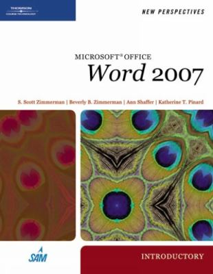 New Perspectives on Microsoft Office Word 2007: Introductory 9781423905813