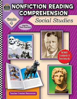 Nonfiction Reading Comprehension: Social Studies, Grade 4 9781420680256