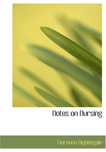 Notes on Nursing 9781426461316